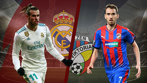 Nhận định Real Madrid vs Viktoria Plzen 02h00 ngày 24/10: Cúp C1