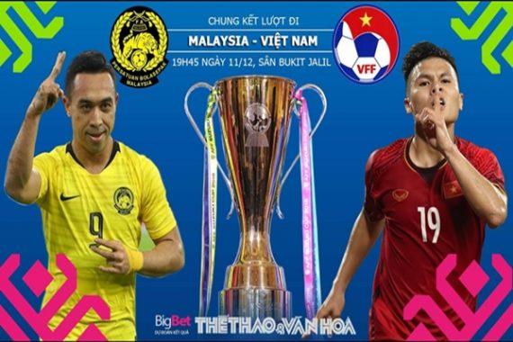 Nhận định Malaysia vs Việt Nam, 19h45 ngày 11/12: Chung kết AFF Cup lượt đi