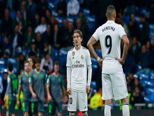 Tin bóng đá sáng 7-1: Real rơi vào tuyệt vọng