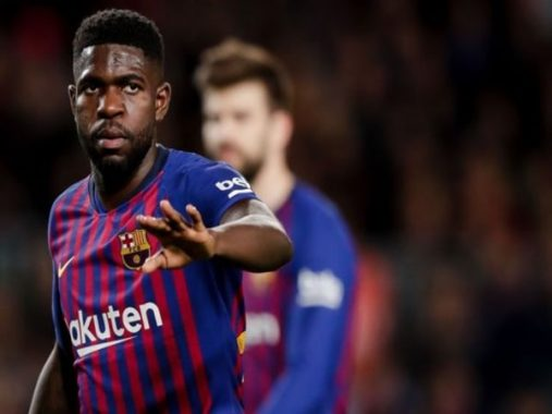 Barca chốt giá bán Umtiti cho Man Utd
