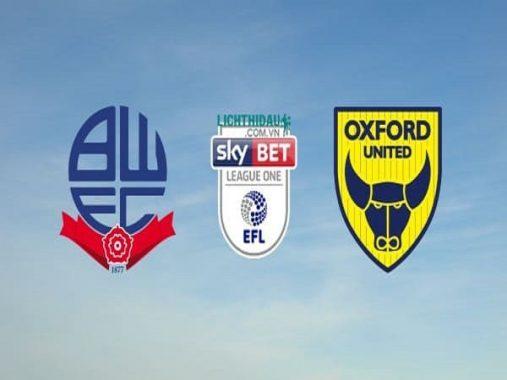 Nhận định Bolton vs Oxford Utd, 02h00 ngày 18/9