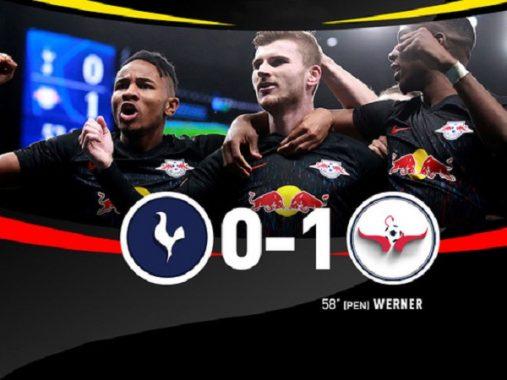 5 điểm nhấn đáng chú ý sau trận Tottenham 0-1 RB Leipzig