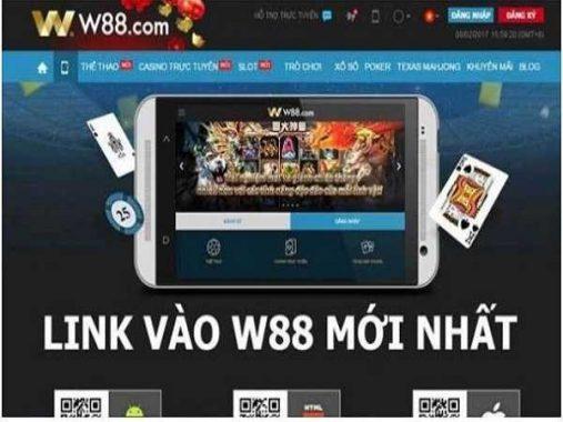 Link mới vào W88 – Chơi nhanh chóng, lướt an toàn