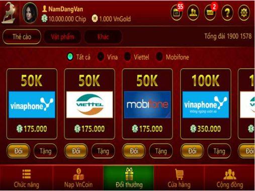 Game bài phỏm đổi thẻ giúp người chơi kiếm thêm thu nhập dễ dàng