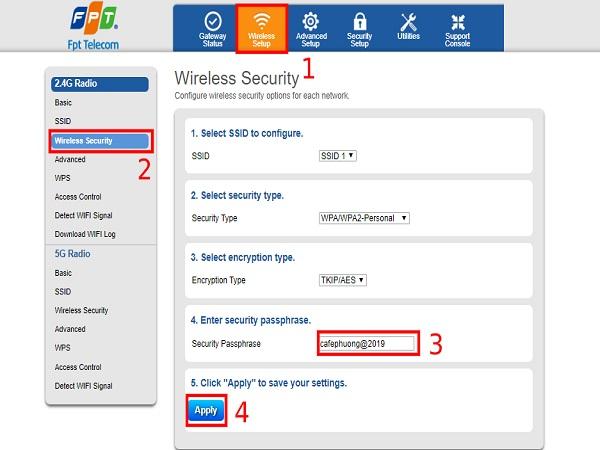 Cách đổi mật khẩu wifi đơn giản, dễ dàng