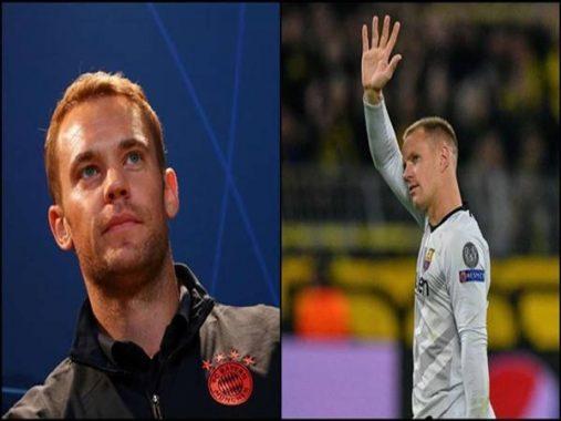 Bóng đá quốc tế ngày 12/8: 2 thủ môn hàng đầu nước Đức thời điểm hiện tại