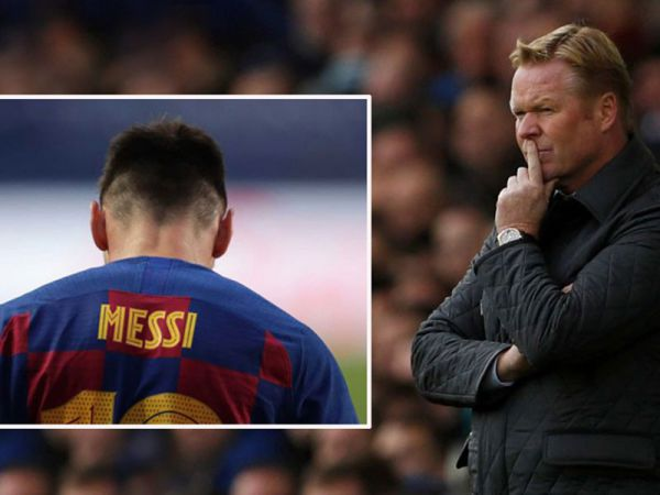 Tin bóng đá trưa 20/8: Koeman khó thoát cảnh bị Messi dẫn dắt