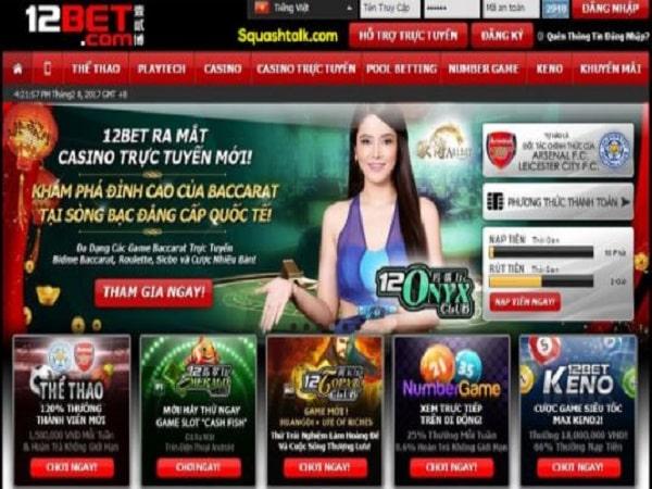 12bet - Nhà cái cá cược trực tuyến uy tín số 1 hiện nay