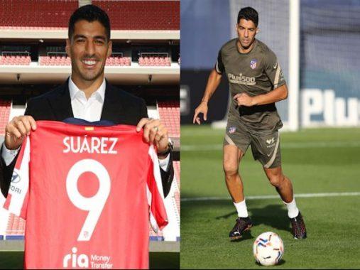 Chuyển nhượng trưa 26/9: Suarez chính thức nhận áo số 9 tại Atletico