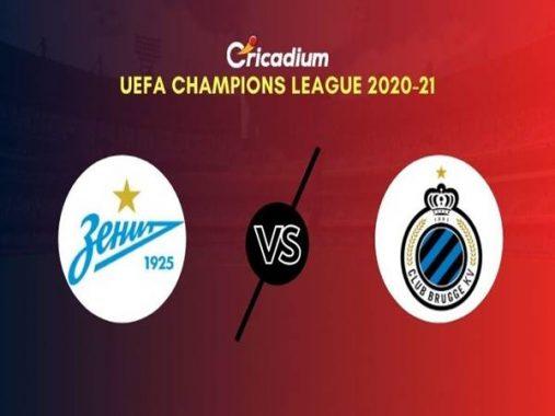 Nhận định Zenit vs Club Brugge, 23h55 ngày 20/10