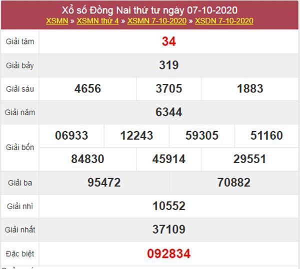 Dự đoán XSDNA 14/10/2020 chốt KQXS Đồng Nai thứ 4
