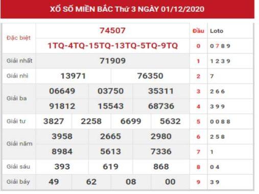 SXMB ngày 2/12/2020 – Dự đoán thống kê kết quả XSMB thứ 4