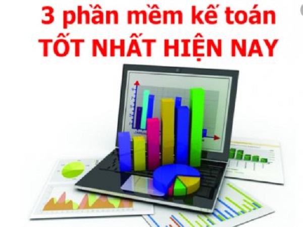 Top 3 phần mềm kế toán tốt nhất hiện nay