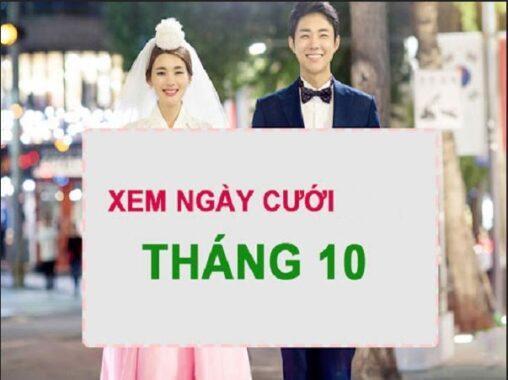 Xem ngày tốt cưới xin tháng 10/2021 cho 12 con giáp