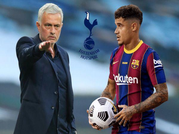 Bóng đá QT trưa 1/3: Mourinho âm mưu táo bạo với Coutinho