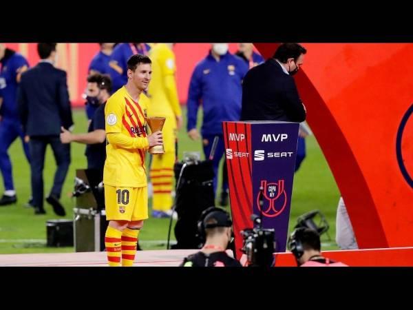 Tin BĐQT tối 18/4: Thiết lập kỷ lục ghi bàn CUP Nhà Vua dành cho Messi