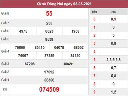 Dự đoán xổ số Đồng Nai 12/5/2021 siêu chuẩn miễn phí