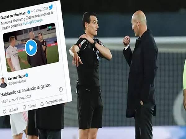 Bóng đá Quốc Tế ngày 11/5: Pique chọc ngoáy Zidane