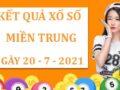 Dự đoán sổ xố Miền Trung thứ 4 ngày 21/7/2021