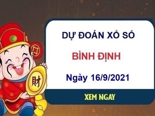 Dự đoán xổ số Bình Định ngày 16/9/2021 hôm nay thứ 5